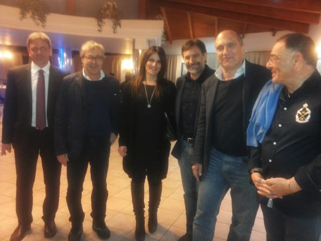 Ferrara-Santimone-Oddati e sig.ra-Cozzolino-C.Vitolo-Hotel San Luca-Battipaglia