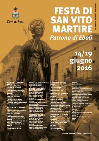 Festa di San Vito Martire 2016