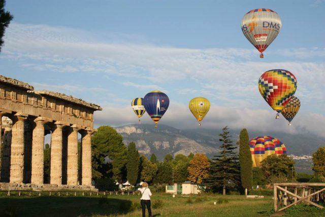 Festival delle mongolfiere-Paestum