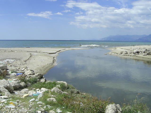 Foce fiume tusciano