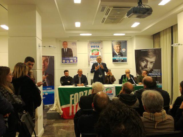 Incontro battipaglia Forza Italia
