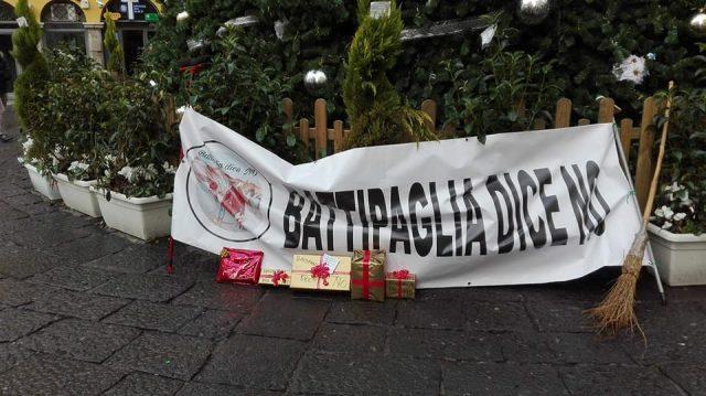 Battipaglia dice No-protesta a Salerno