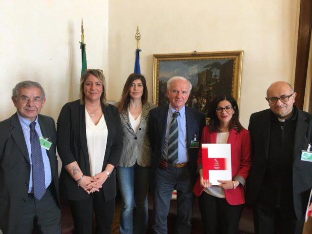 On Marialucia Lorefice e Chiara Gagnarli con Cioni e Martino