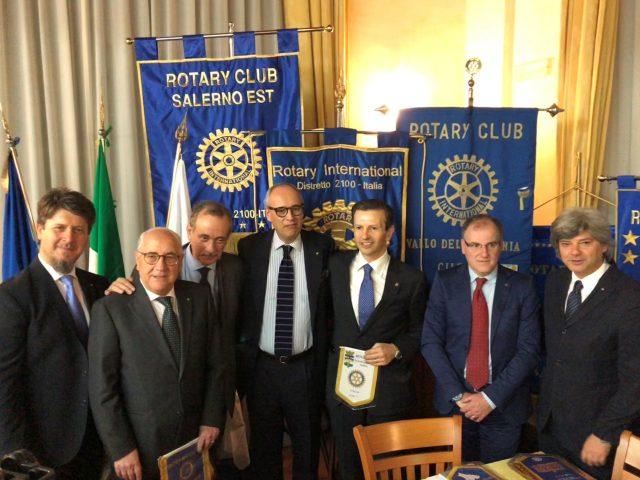 Davide Giacalone-Antonio Lombardi-Soci Rotary Club