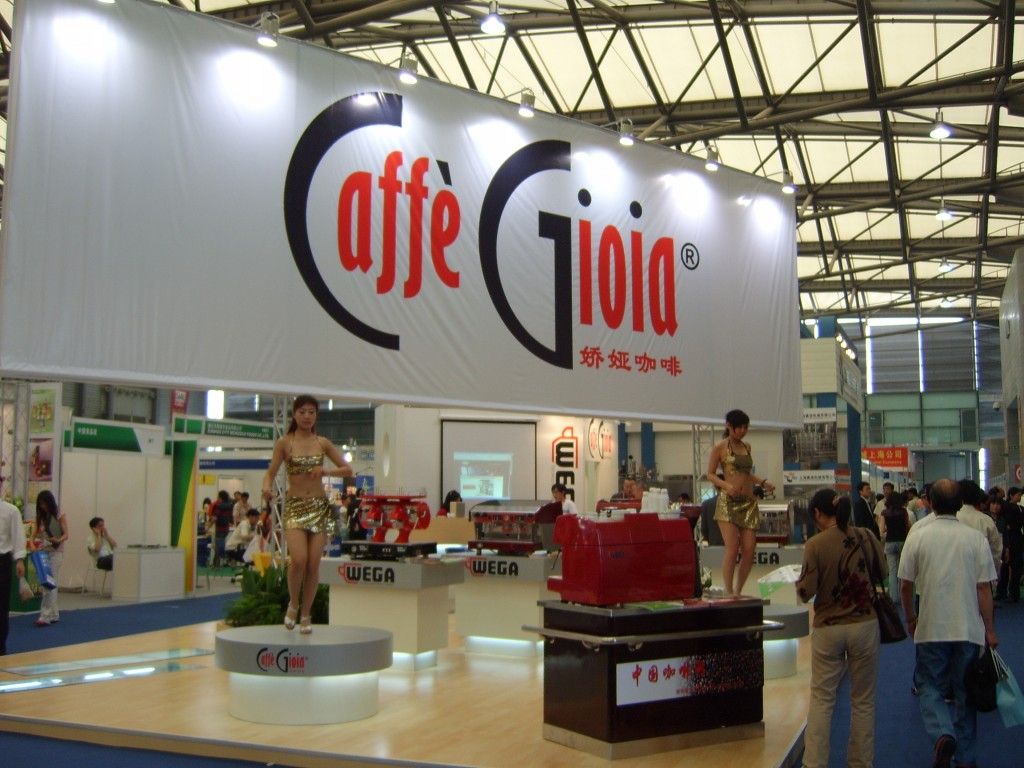 Caffè Gioia alla fiera di Shanghai