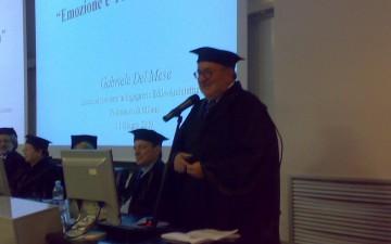 Gabriele Del Mese-Laurea Honoris Causa-Politecnico Milano-Lectio magistralis