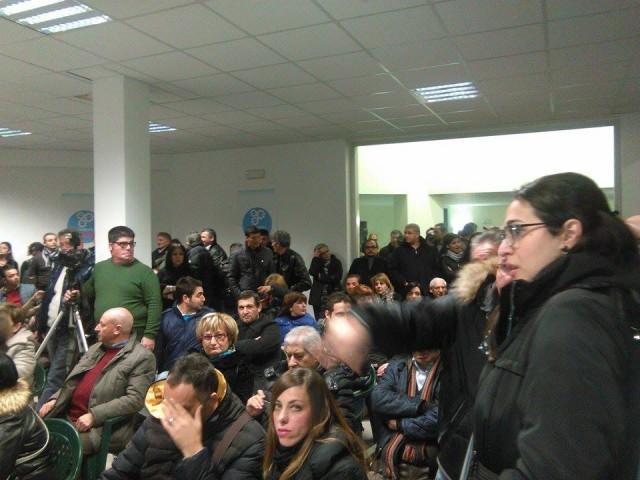 Galleria Ritz-Manifestazione Caputo-Pubblico
