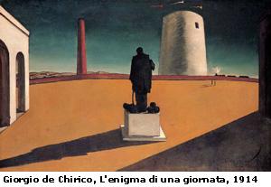 Giorgio De Chirico - L'enigma di una giornata
