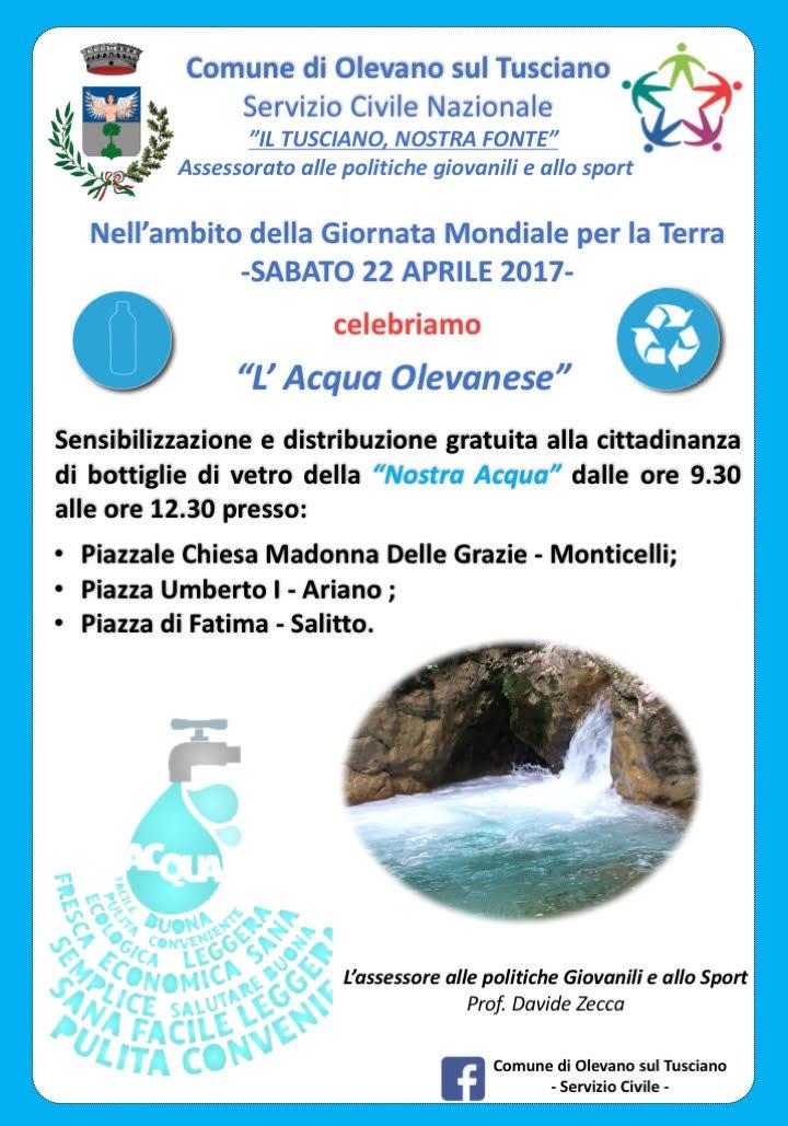 Giornata della Terra-Olevano sul Tusciano