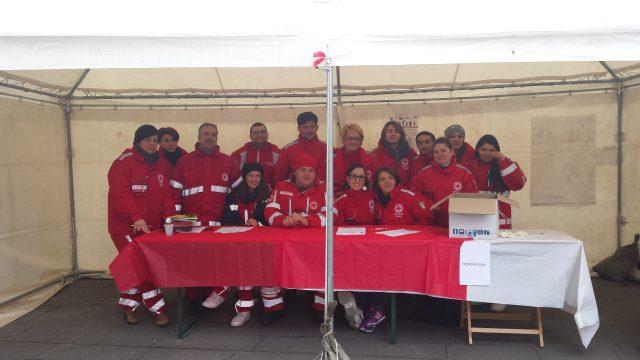 Giornata mondiale del Rene-Eboli 2015-staff Croce Rossa-volintari