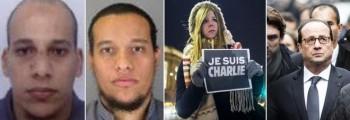 Gli attentatori-Charlie Hebdo