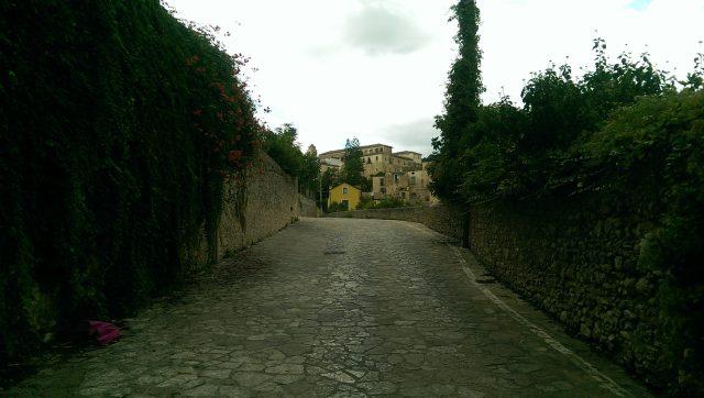 Eboli-Via delle Fornaci romane