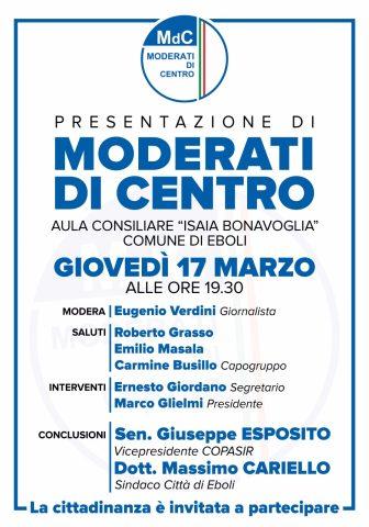 Presentazione Moderati di Centro