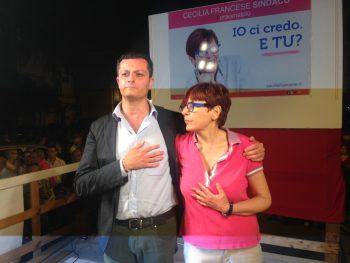 Ugo Tozzi-Cecilia Francese-chiusura-ballottaggio