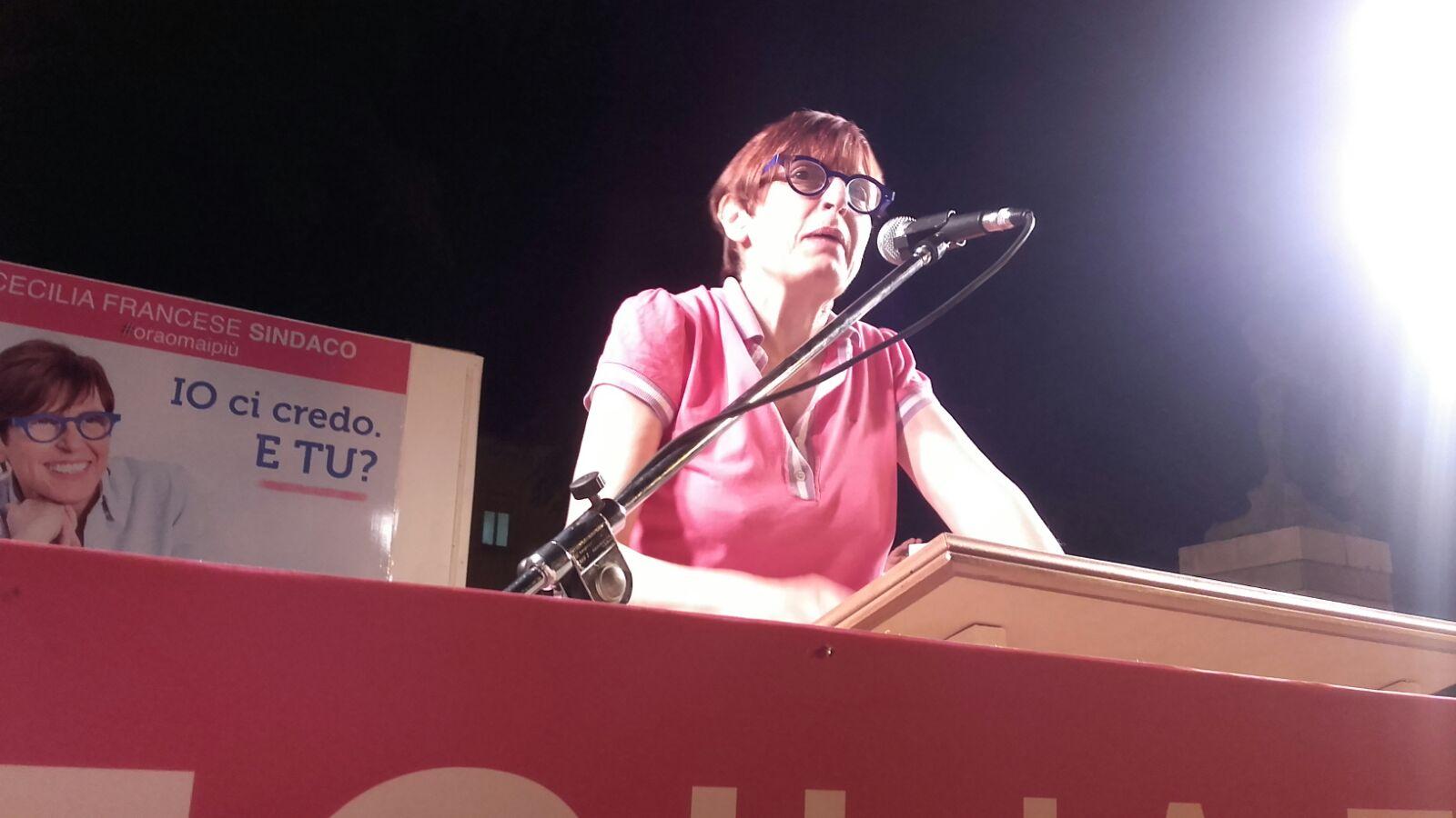 Cecilia Francese-Chiusura-Ballottaggio