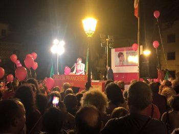 Cecilia Francese-comizio chiusura ballottaggio