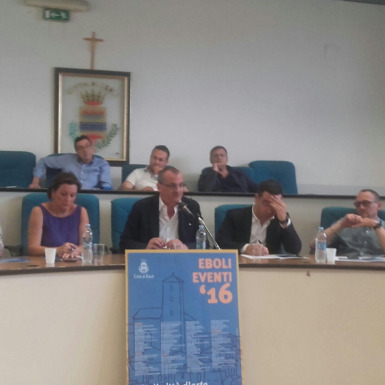 Massimo Cariello-Presentazione -Eboli Estate 2016