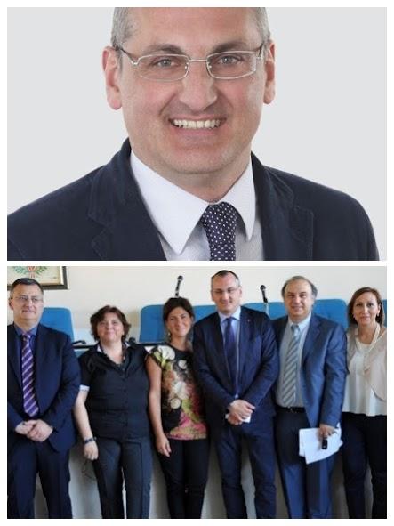 Massimo Cariello e la Giunta