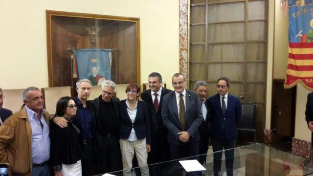 De Maio-Barlotti-Villecco-Consalvo-Napoli-Francese-Alfieri-Cariello--Di Lorenzo-Intesa comuni fascia costiera-protocollo intesa