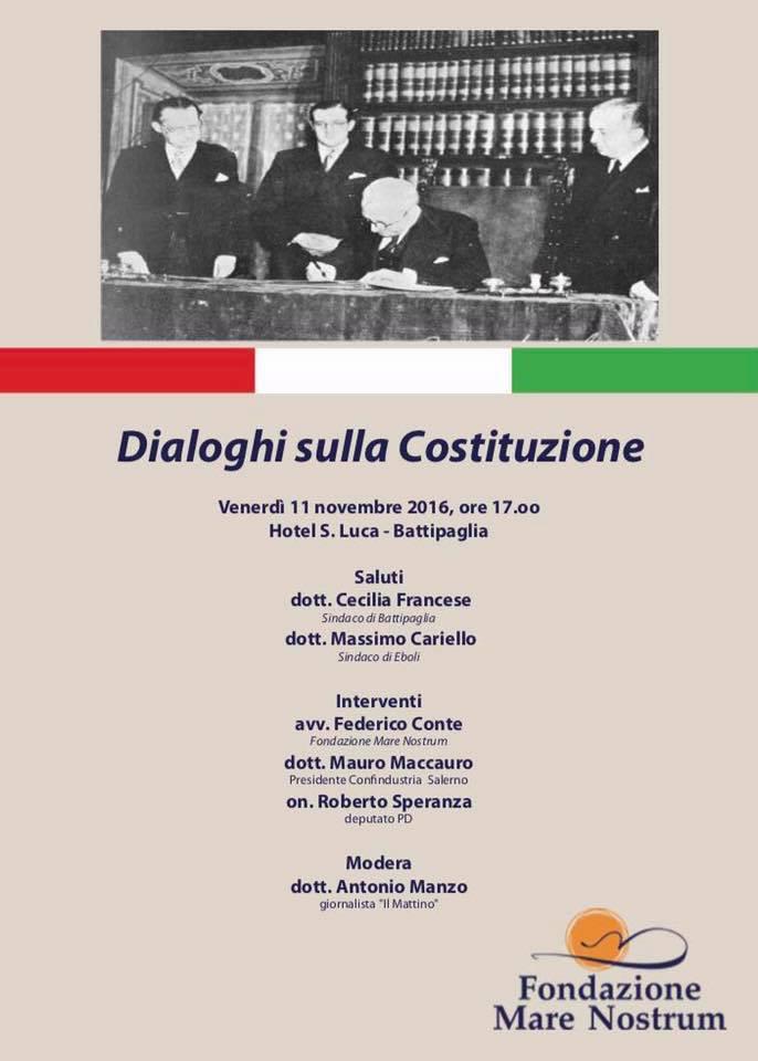 Convegno Battipaglia-Dialoghi Costituzione