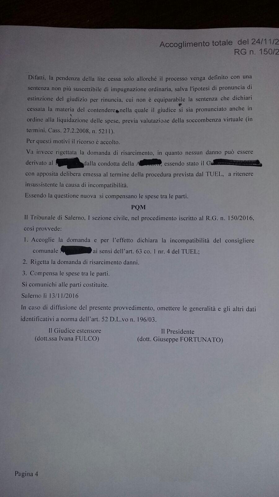 Ordinanza surroga Pellegrino 4