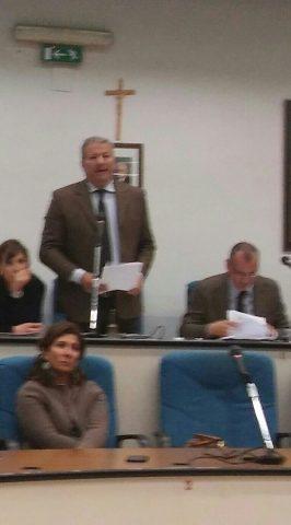Fausto Vecchio-Consiglio comunale-ISES