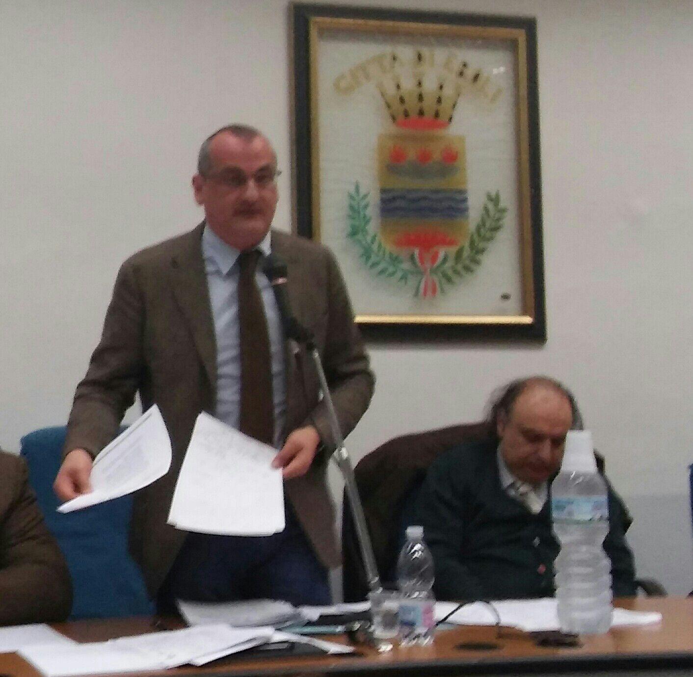 Cariello-consiglio comunale-ises