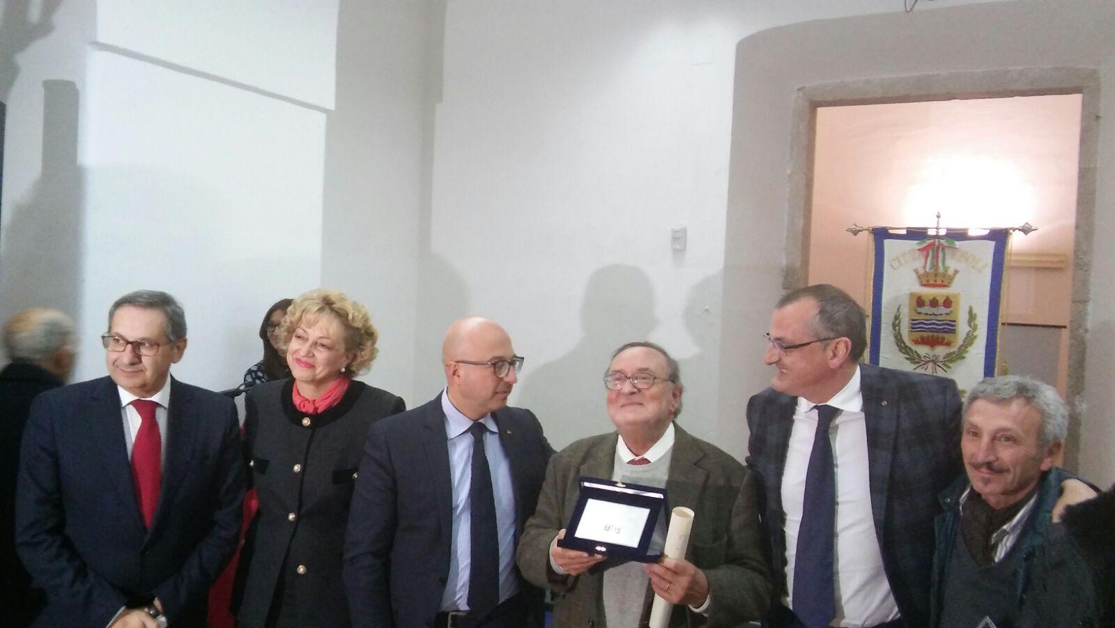 Gabriele Del Mese-Ebolitano illustre-con-Manzo-Scarano-Cesaro-Cariello-Ciao