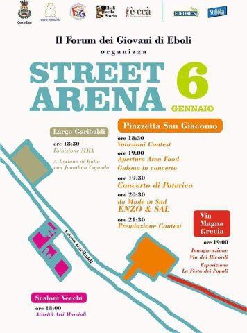 Street-Arena-2017-Eboli-programma