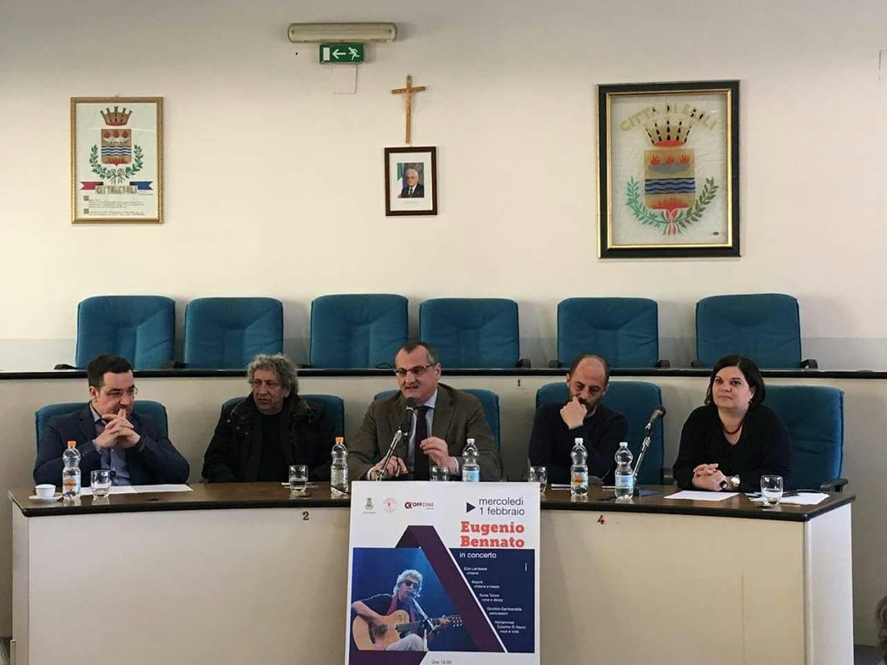 Vito Leso-Eugenio Bennato-Massimo Cariello-Vito Del Plato-Silvana Scocozza-1