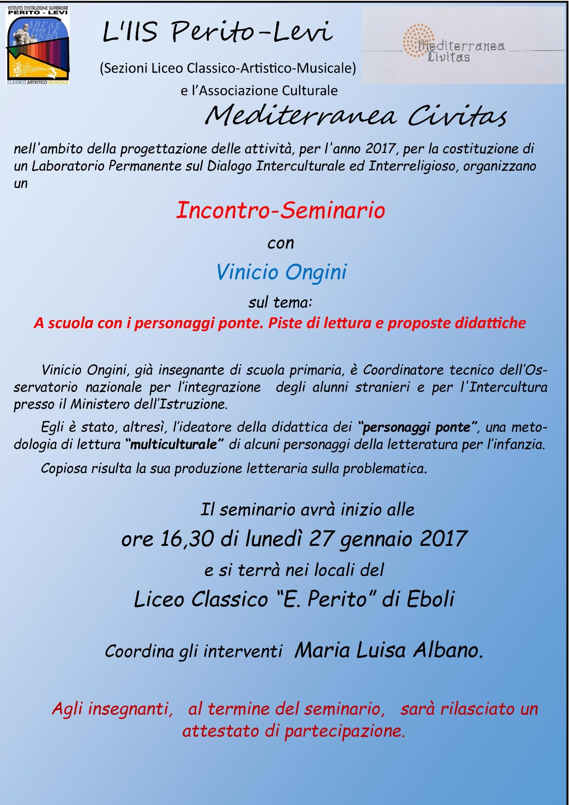 Seminario-Liceo Classico-Perito-Eboli