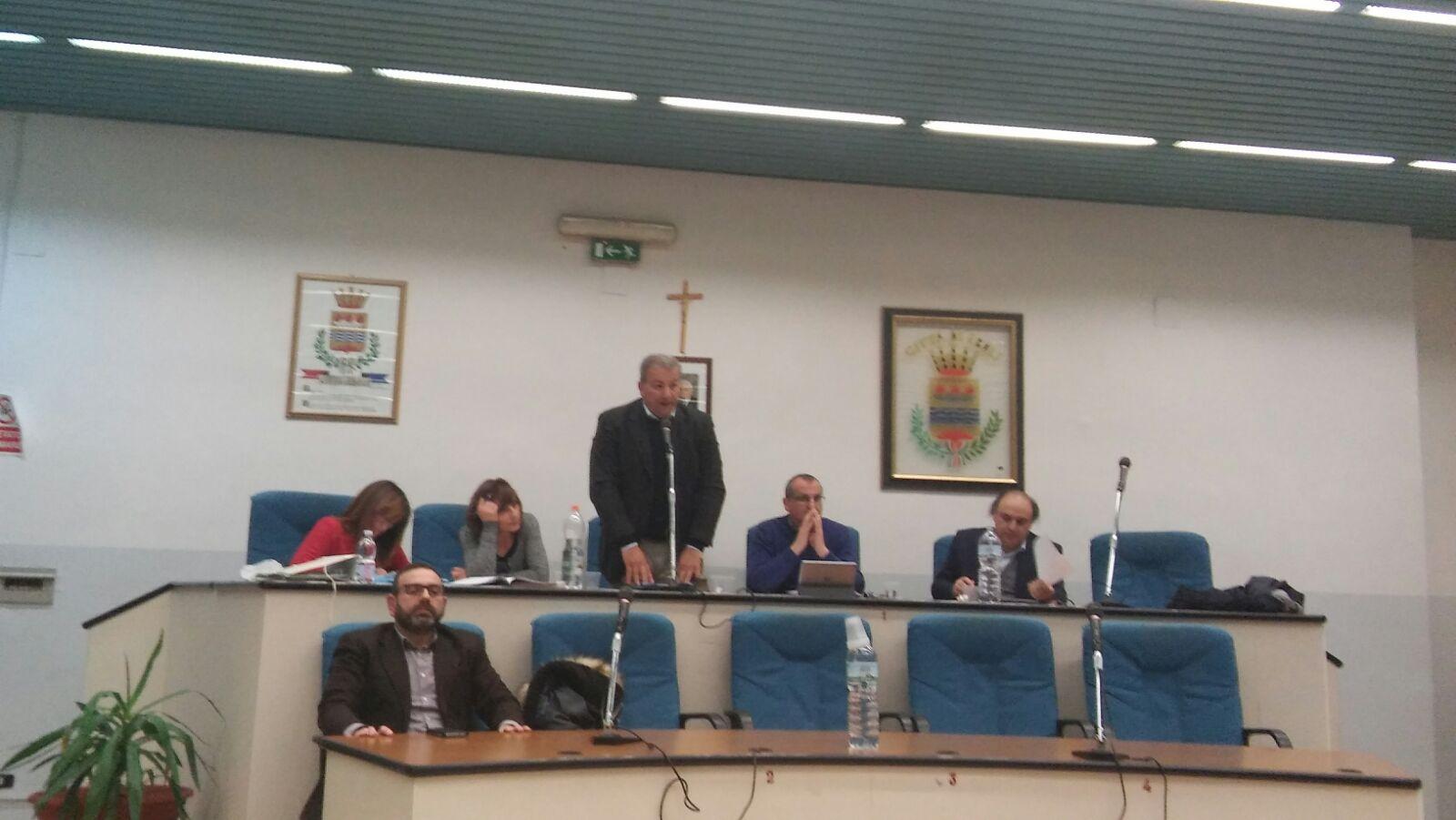 Consiglio Comunale Eboli-Lardo-Vecchio-Cariello-Di Benedetto