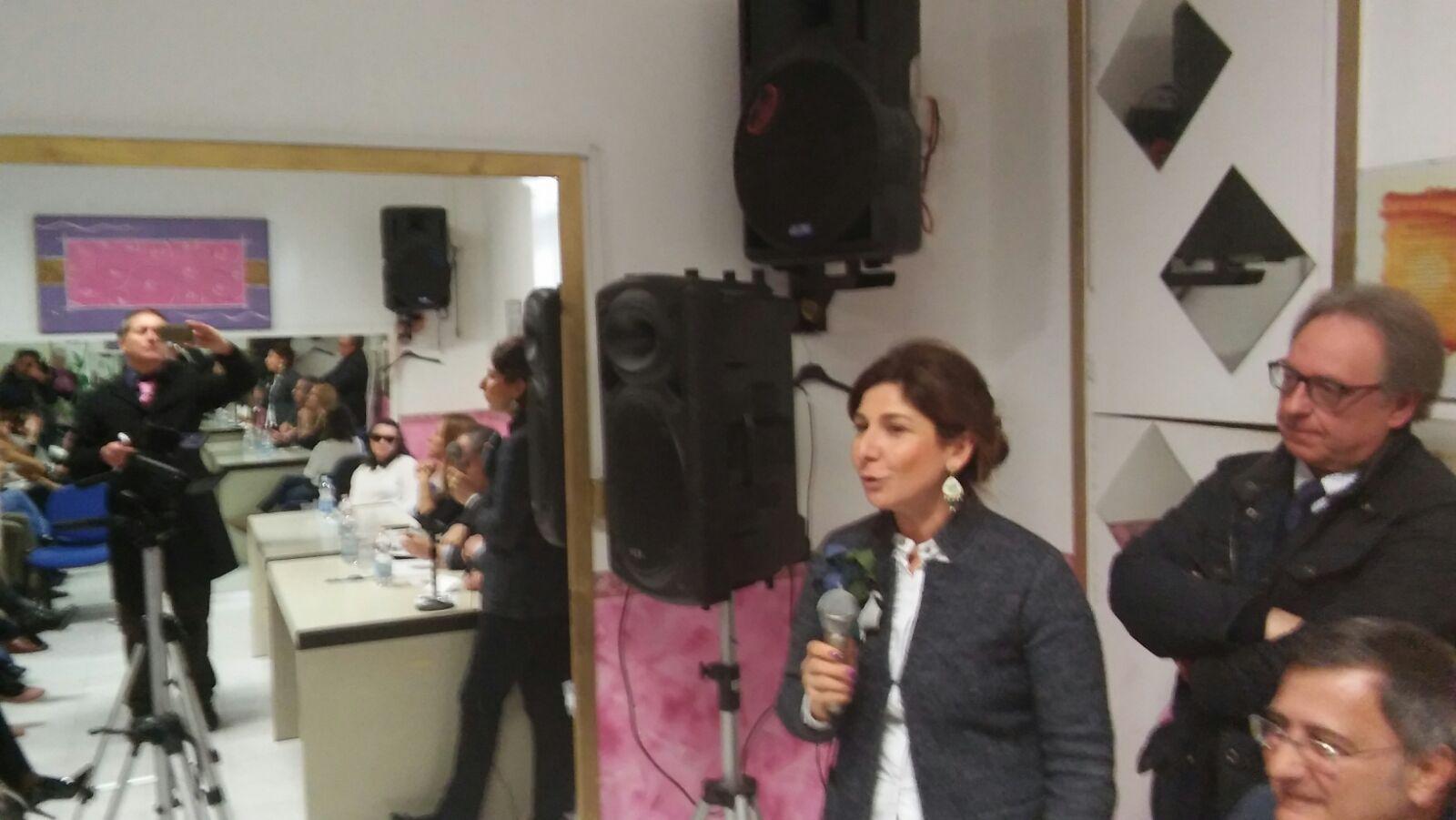 Inaugurazione Centro Antiviolenza Eboli-Matilde Saja