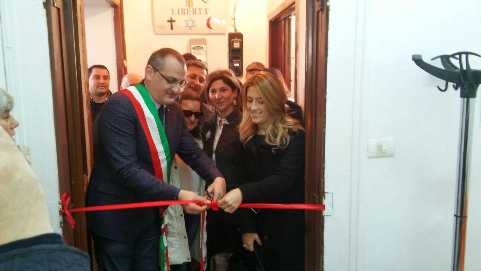 Centro Anti Violenza-Eboli-Cariello-Lamberti-Lenza-Saja-Marciano-inaugurazione