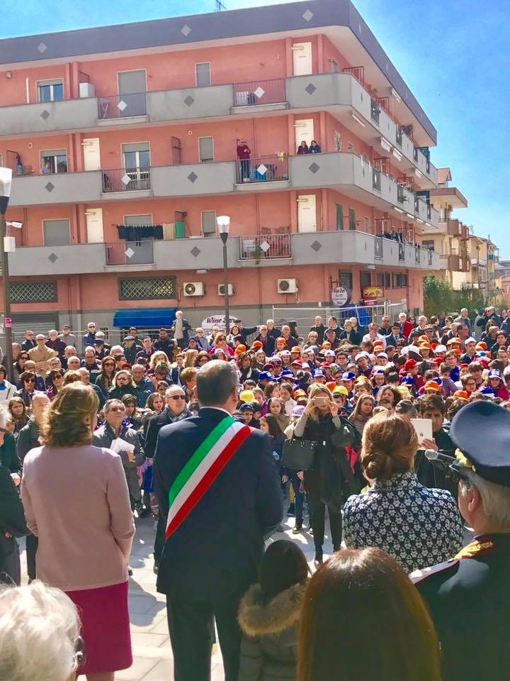 Piazza Luigi Pezzullo-Intitolazione-pubblico