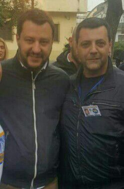 matteo Salvini-Vincenzo Albano
