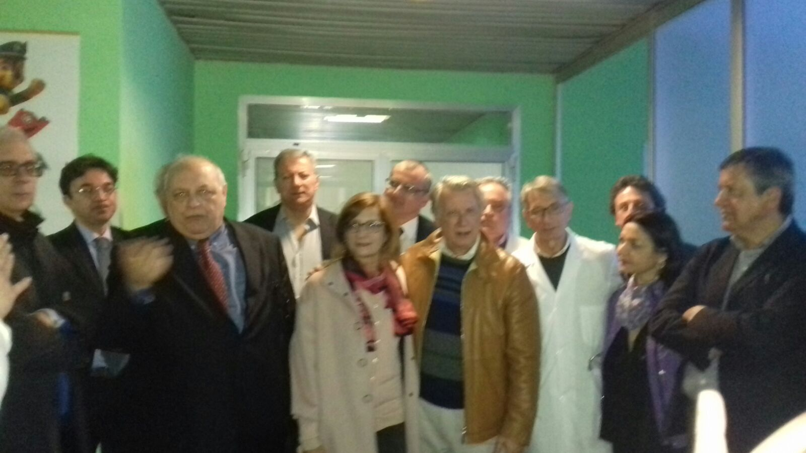 Antonio Giordano-inaugurazione-Ambulatorio pediatrico Eboli
