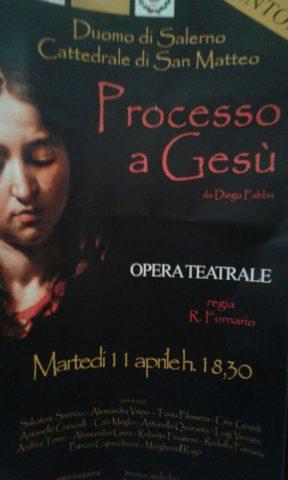 processo a Gesù Salerno