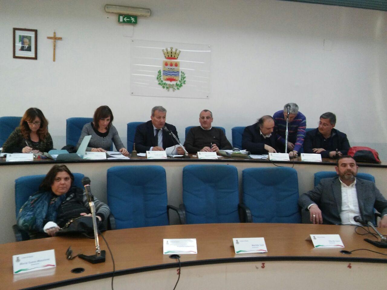 consiglio comunale eboli-bilancio 2017