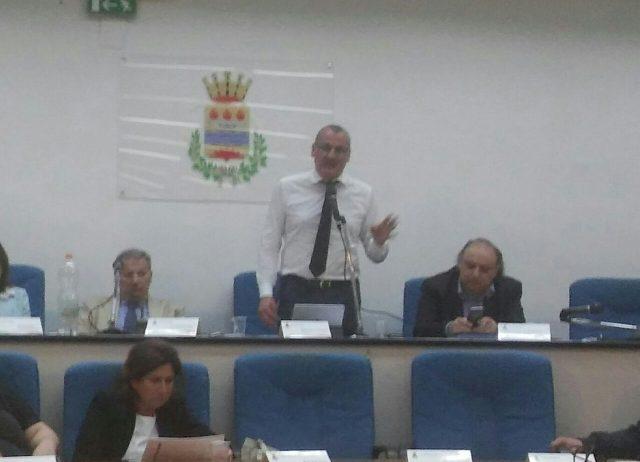 MASSIMO CARIELLO-consiglio comunale Eboli-federalismo demaniale-