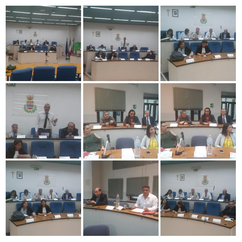 consiglio comunale Eboli-federalismo demaniale-collage