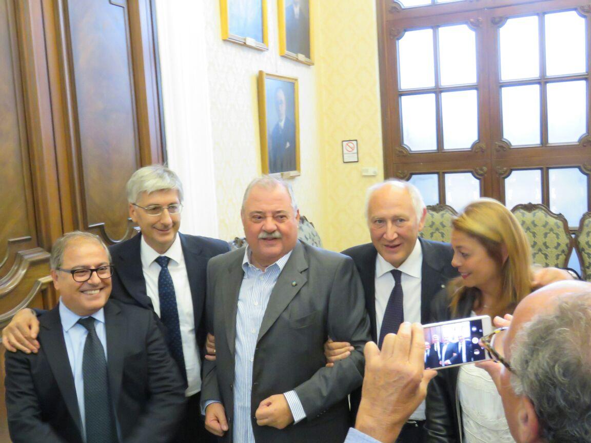 Vito Pompeo Pindozzi-Bari-Laurea Honoris Causa