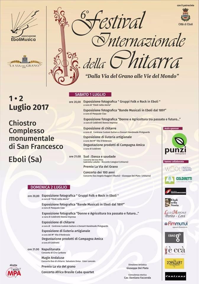 6 Festival della Chitarra Cittá di Eboli
