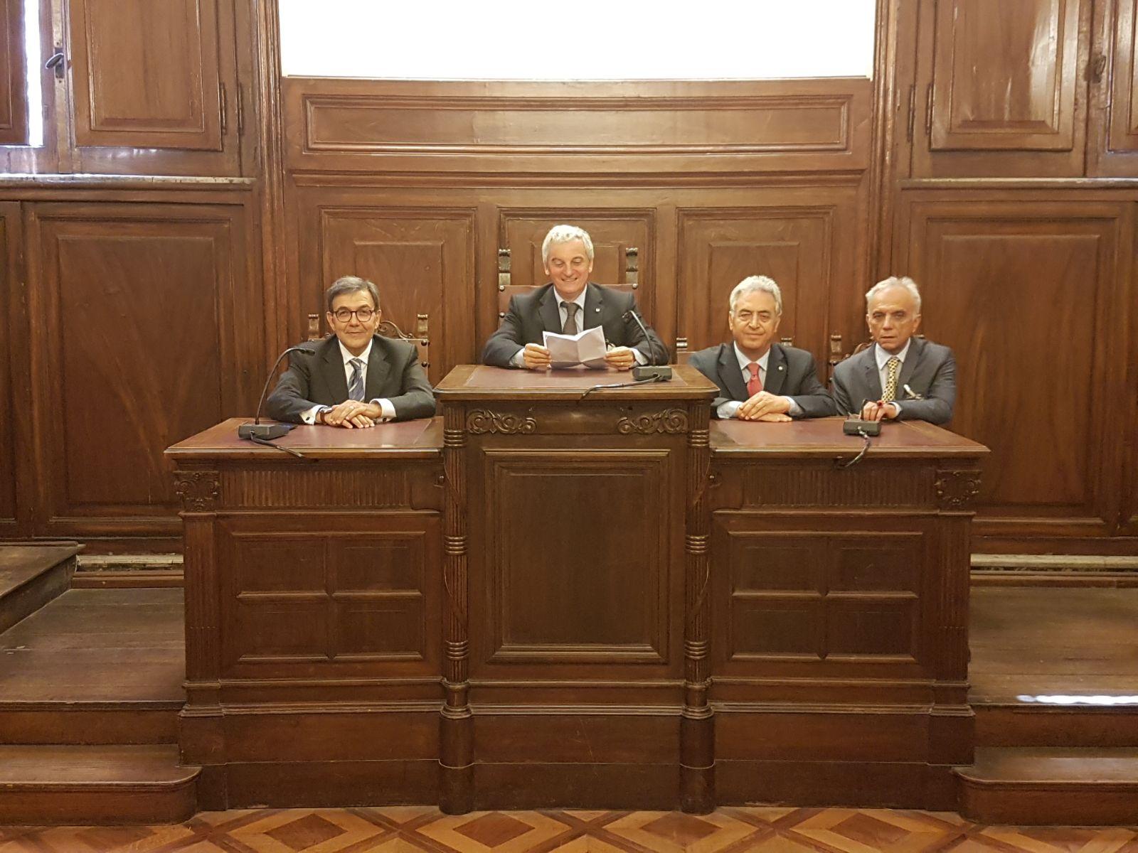 Cosimo Damiano Giannotta,Mario Braga, Antonio Landi,Sergio Lombardelli