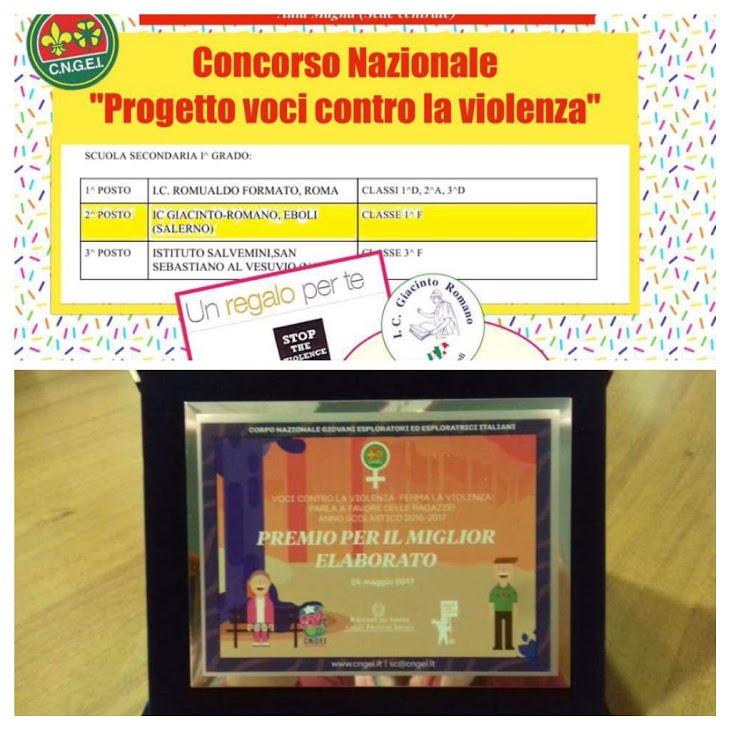 voci contro la violenza-premio G Romano Eboli