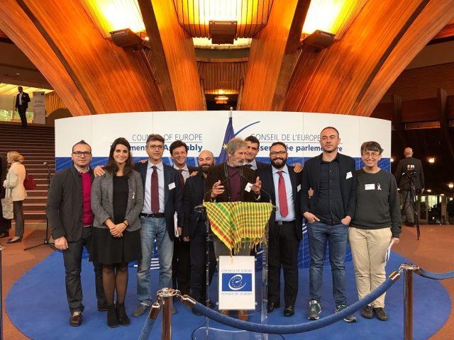 delegazione a Strasburgo per Kurdistan-2