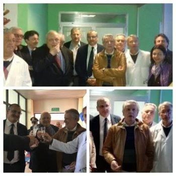 inaugurazione ambulatorio pediatrico Ospedale di Eboli