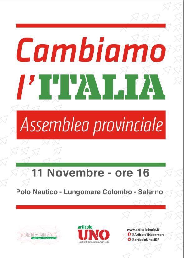 Salerno Assemblea provinciale Art1-MDP