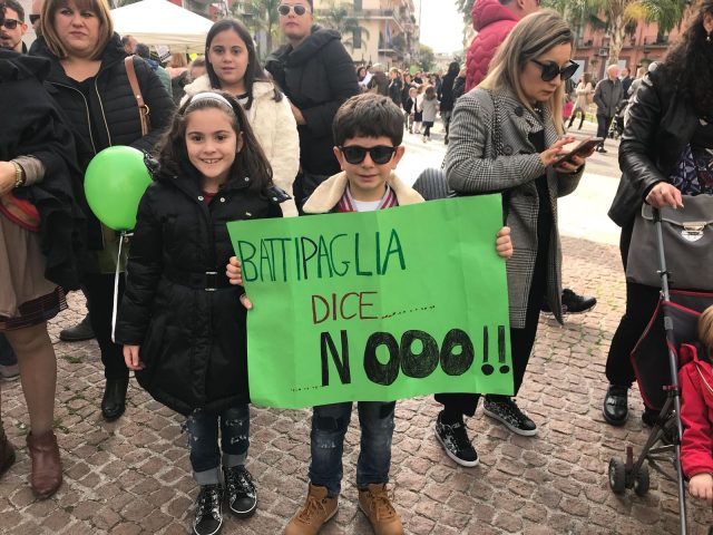 Passeggiata No compostaggio Battipaglia39