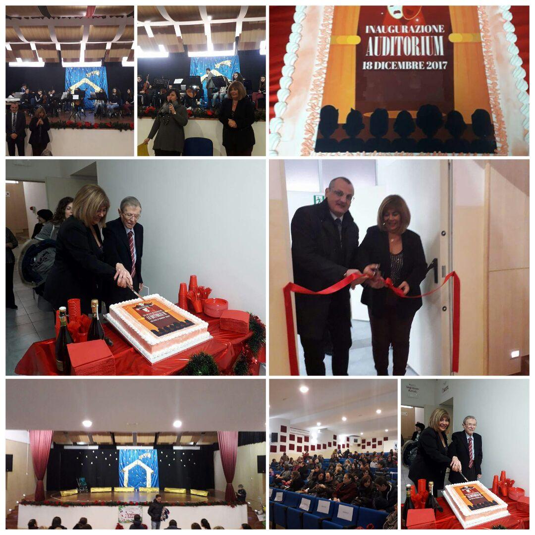 inaugurazione Auditorium-Scuola Romano-Eboli-Cariello-Mirra-Coccaro